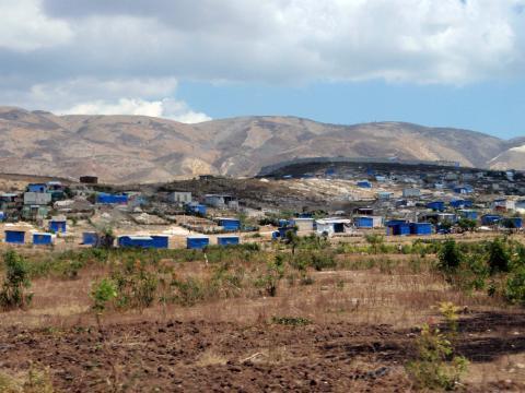 Aux abords de Port-au-Prince