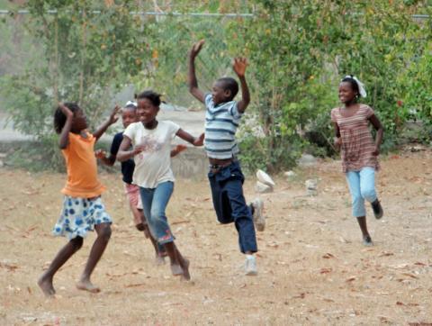 Enfants de Timoun Tet Ansamn